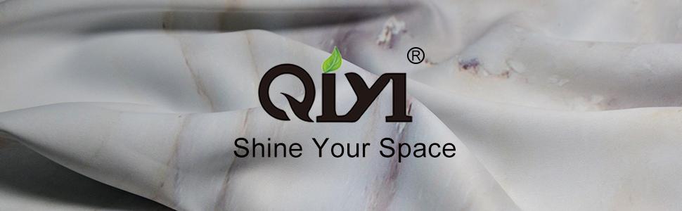 brand logo - QIYI Home Decor - Shine Your Space