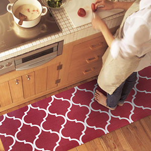 Comfort Kitchen Rug Soft Mat Set thick cushion kitchen rugs Laundry Office