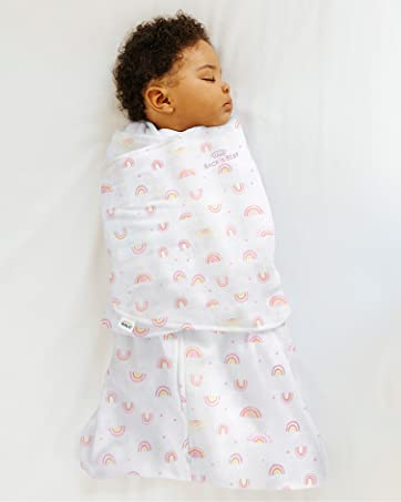 baby sleeping in a swaddle