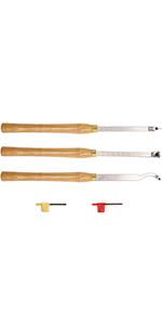 AT03 Carbide Tipped Wood Turning tools Lathe set
