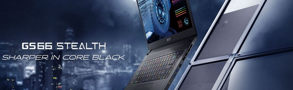 MSI GS66 Stealth Banner