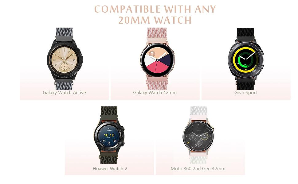 UHKZ Bands Compatible with Samsung Watch