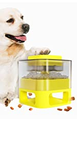 dog food dispenser toy for small dog