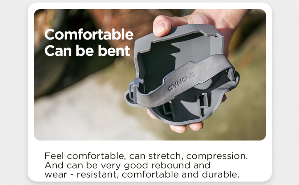 Feel comfortable, can be bent