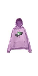 Women's Frog Pullover Hoodie Cute Hoodies Sweatshirts
