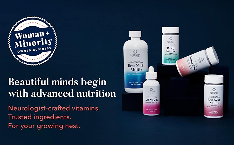 Beautiful minds begin with advanced nutrition Neurologist-crafted vitamins. Trusted ingredients.