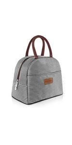 insulated lunch bag-BW