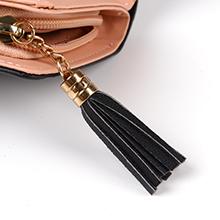 cat wallet black