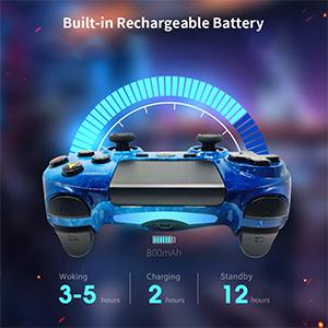 ps4 controller blue