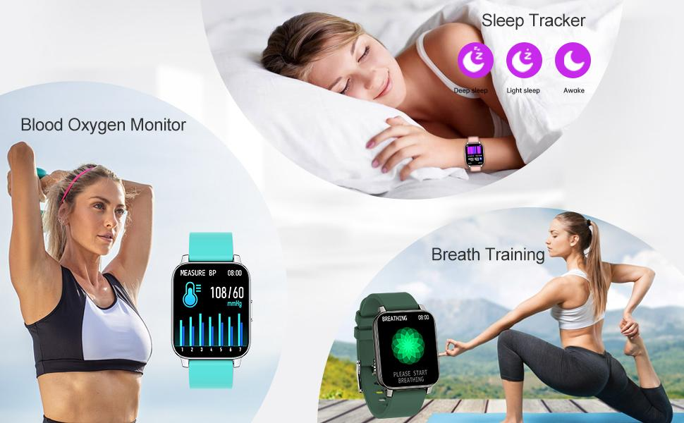 24/7 Heart Rate Monitor and Sleep Tracker