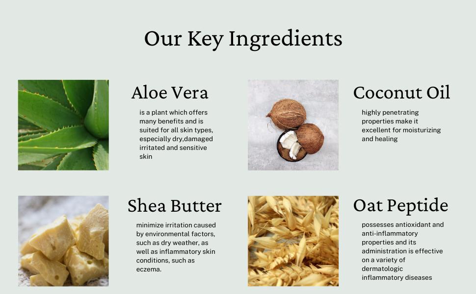 Lilu Organics skin perfecting cream key ingredients