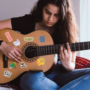 Stickers for Guitar