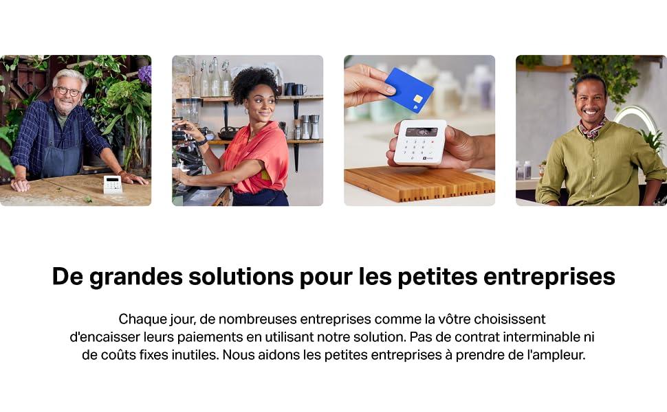 De grandes solutions pour les petites entreprises