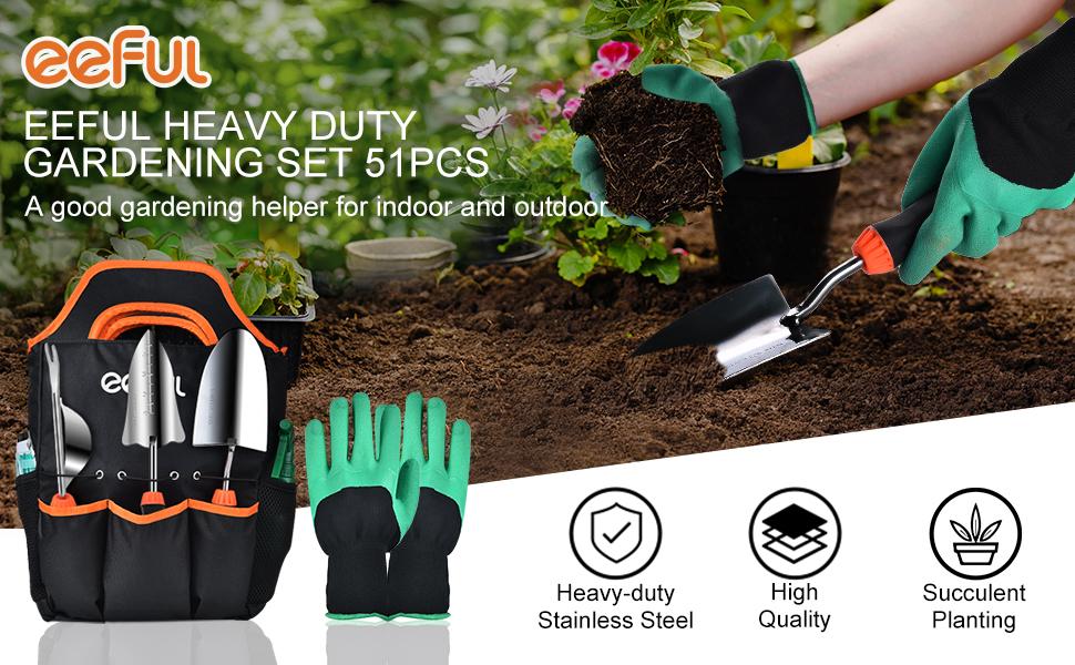 Completed Garden Tools Set