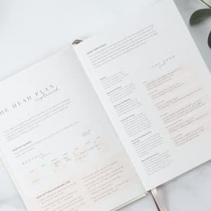 Detailed guided journaling instruction