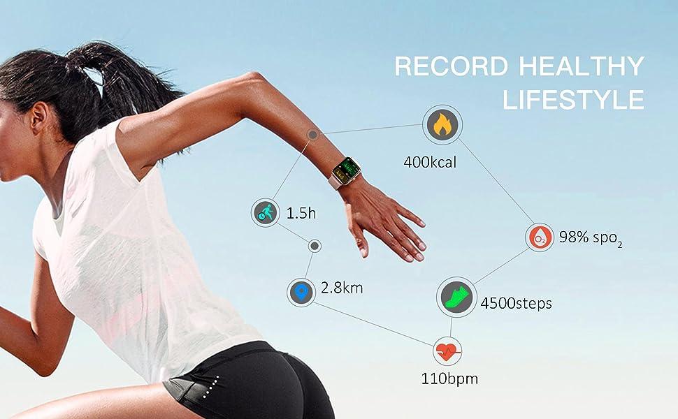 14 sports modes tracker
