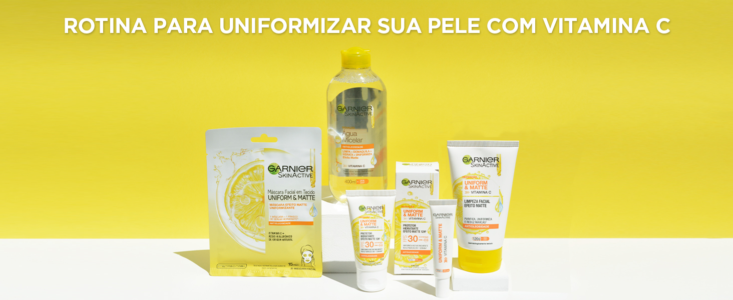 Rotina para uniformizar sua pele com vitamina c