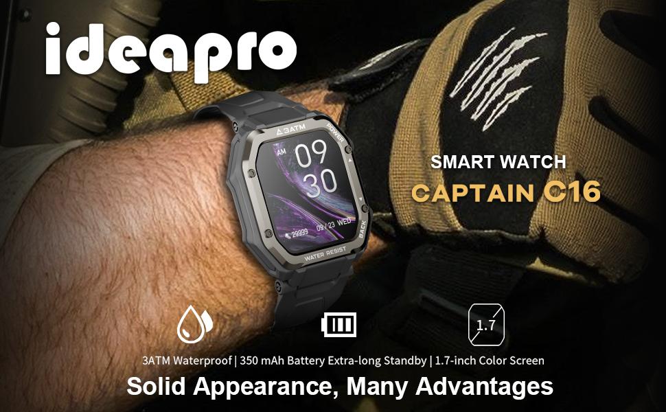 ideapro i8 smart watch C16