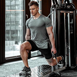 COOFANDY Men's 3 Pack Workout T Shirts