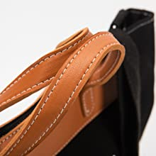 Brown Leather Handle