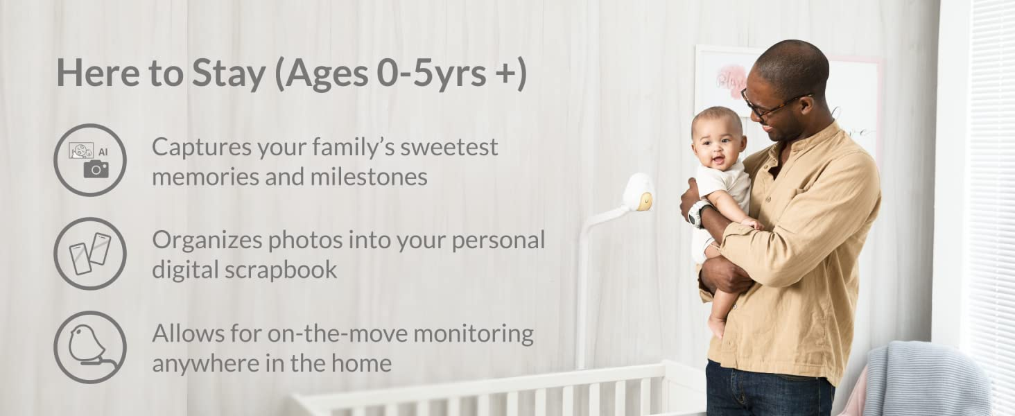 Here to Stay (Ages 0-5yrs +)