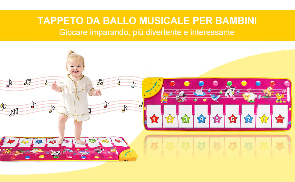 Tappetino Pianoforte