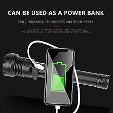 Flashlight power bank