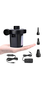AC air pump for inflatables