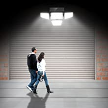 motion sensor spotlight outdoor motion solar lights outdoor waterproof