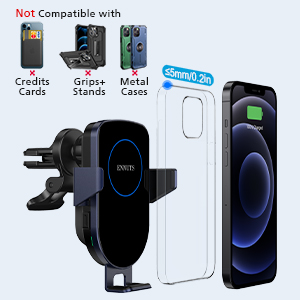 wireless car phone holder