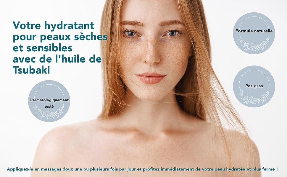 crème fortement hydratante pour les peaux sèches et sensibles