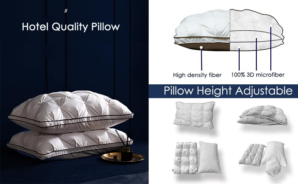 firm pillow hotel pillows