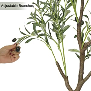 artificial olive tree faux olive tree potted olive tree for living room decor indoor tall