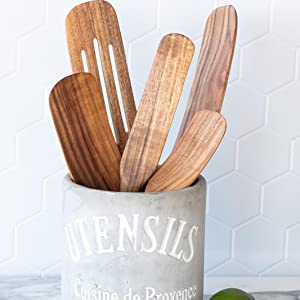 wooden spurtle spurtles kitchen tools made in usa spurtle spoon spurdle for cooking