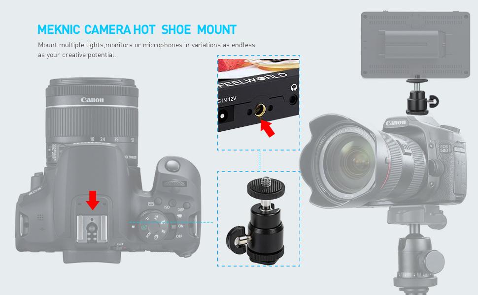 MEKNIC Hot Shoe Mount Adapter