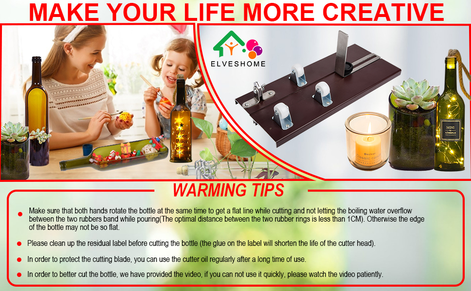 MAKE YOUR LIFE MORE CREATIVE