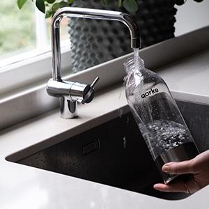 Bouteille d'eau en PET Aarke