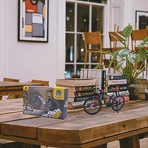 Mini Bicycle Model Mini Bike Toy Mini Mountain Bike Model Mountain Bike Cake Topper Little Bicycle