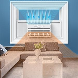 Window Air Conditioner with Dehumidifier Mode