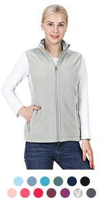 womens fleece vest