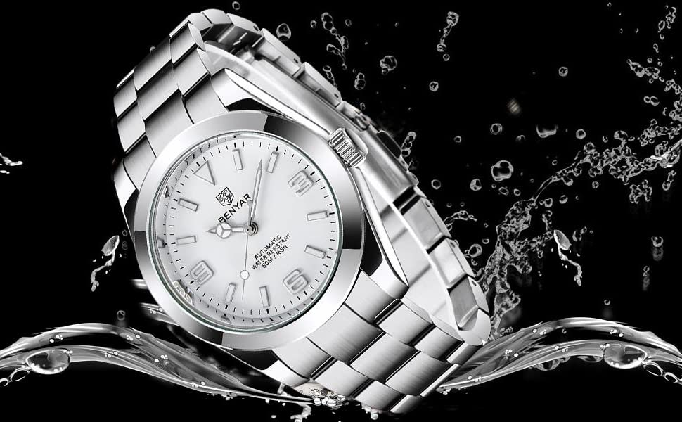 BENYAR Business Men's Watches Sports Waterproof Analogue Automatic