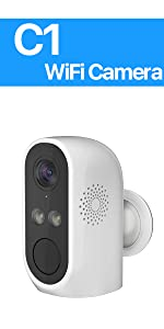 C1 Wire Free Battery Security Camera