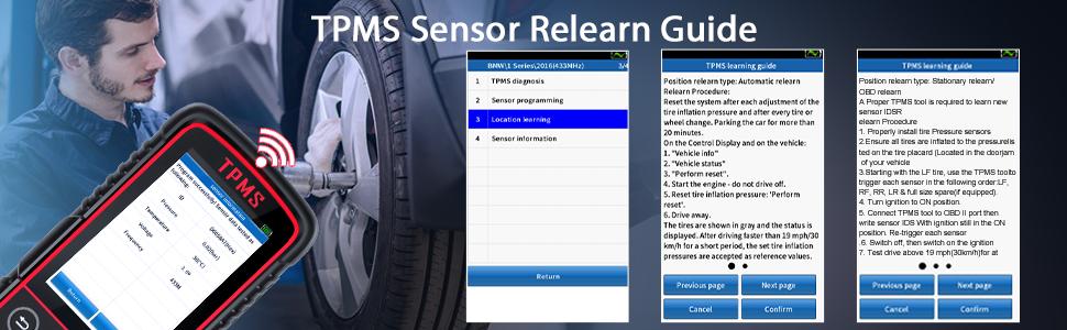 sensor relearn tool