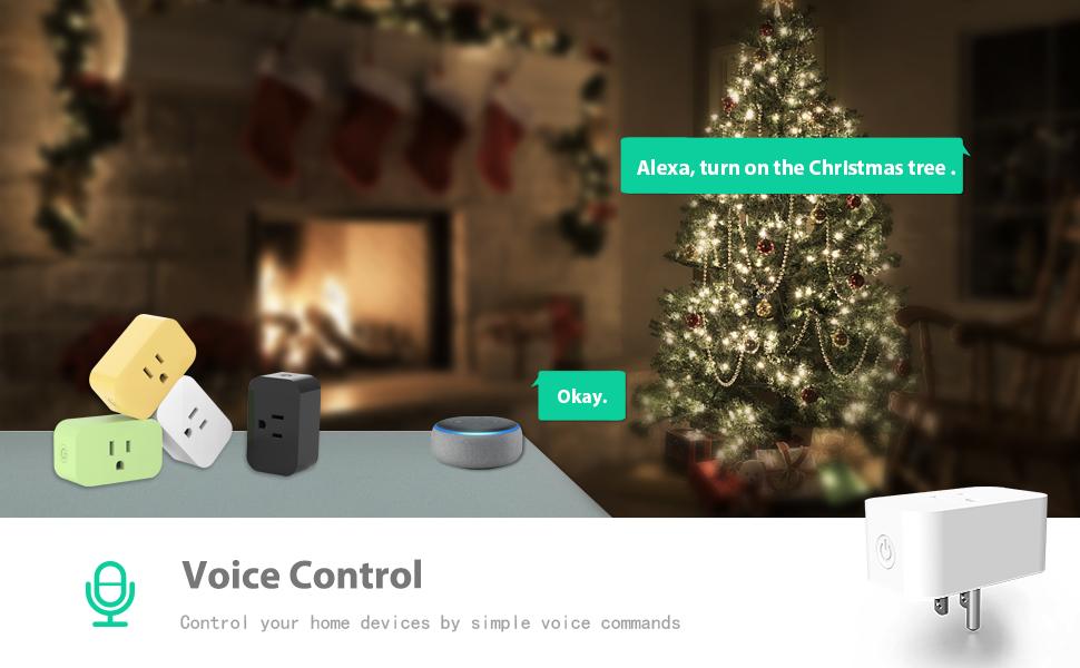 smart plug amazon alexa google assistant outlets socket