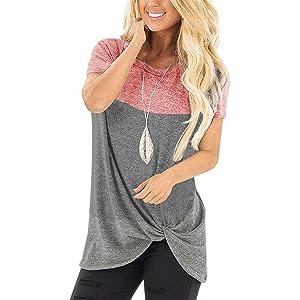 pink blokc women shirts