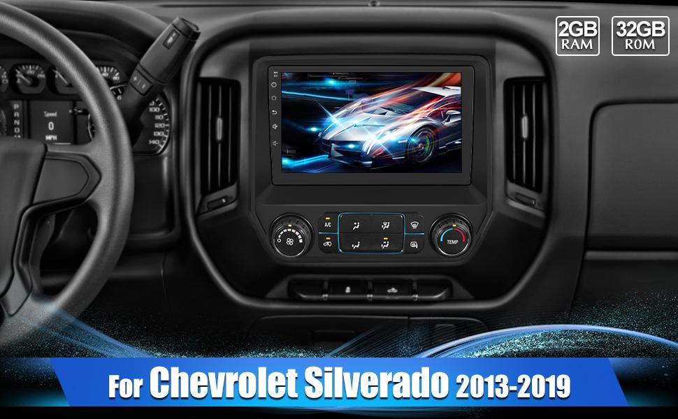 chevy silverado radio