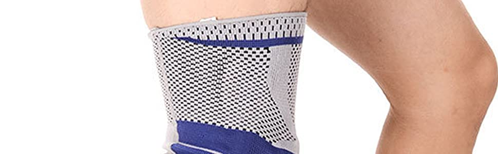 Breathable fabric,  Elastic and overall length,  Provide great compression