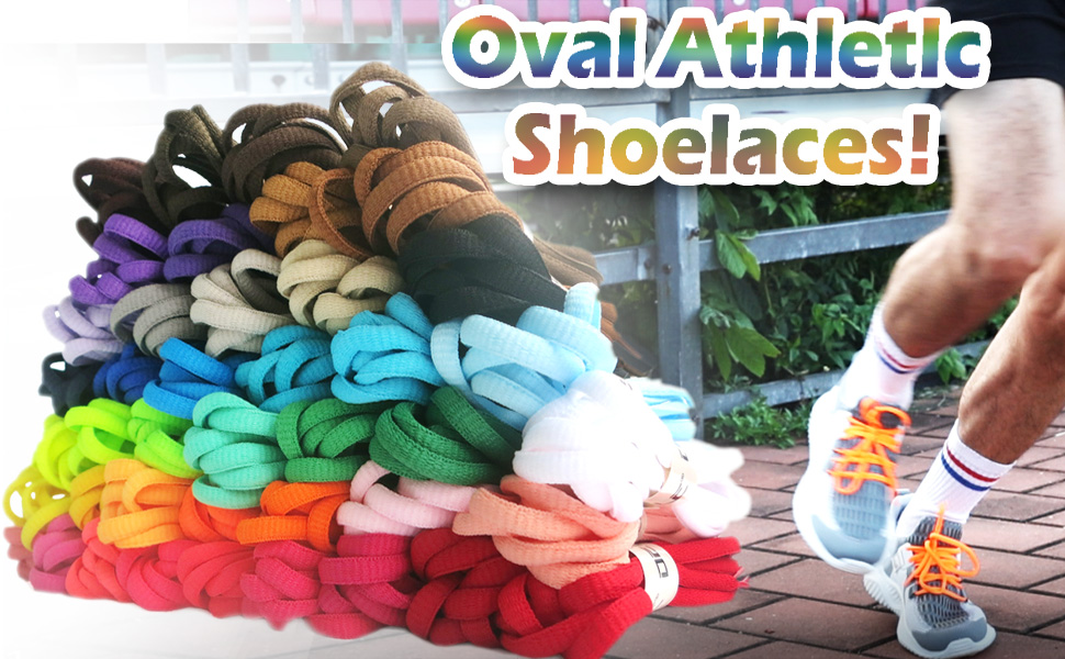 Oval Athletlc Shoelaces