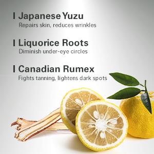 Japanese Yuzu, Liquorice Roots, Canadian Rumex