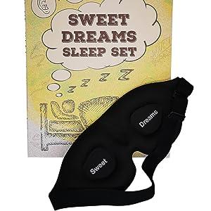 Sweet Dreams Sleep Mask and Box